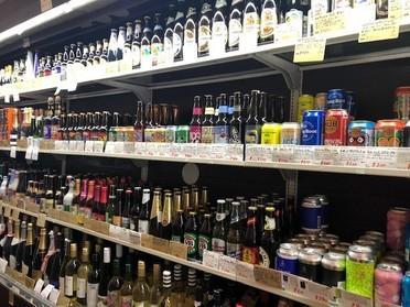 クラフトビールがたくさん!