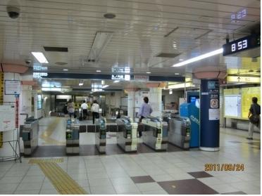 丸ノ内線始発駅(改札)