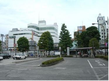 調布駅南口の風景